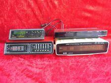 4 alte Radio-Wecker__Grundig , Saba , Simens __!