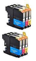 6PK INK FOR BROTHER LC-203XL LC203 LC-201 XL MFC-J5720DW MFC-J4320DW MFC-J4420DW
