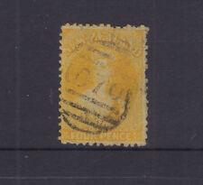 NZ 1866 4d CHALON p12½ SG120 cat £120+++ Deformed canc 070 of WELLINGTON c1873