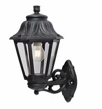 Fumagalli Anna Bisso 1 Light Traditional Outdoor Wall Light Black Coastal Areas