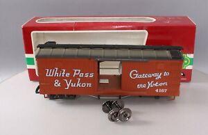 LGB 4167 White Pass and Yukon Wood Boxcar/Box