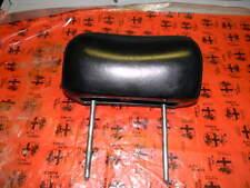 Alfa Romeo Spider Black Leather Seat Head Rest