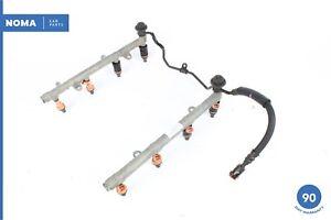 02-05 Lexus Z40 SC430 4.3L V8 Gas Fuel Rail Line Assembly W/ Injectors OEM