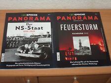 """2 X GEO EPOCHE PANORAMA Nr. 11 & 12 """"Der NS-Staat/FEUERSTURM HAMBURG 1942"""""""