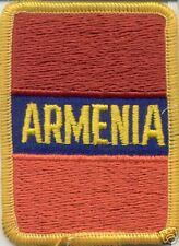 Armenia Patch Iron on NEW (rectangle design)