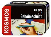 Die drei ??? Geheimschrift (2008) Ausrüstung für kleine Detektive KI27201