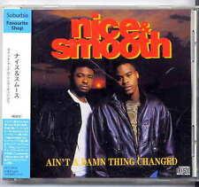 Nice & Smooth Ain't a damn thing changed Japan CD w/obi new jack swing UICY-6914