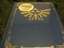 Legend of Zelda Phantom Hourglass Collector's Edition Hardcover Strategy Guide