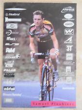 Lot de 19 cartes, coureurs cycliste équipe Jean Delatour