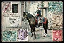 CAVALRY REGIMENT PORTUGUESE SWORD HELMET ANTIQUE POSTCARD STAMP VALUES