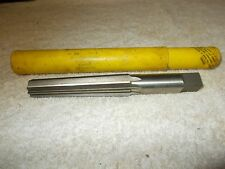 Vintage Morse Cutting Tools:No,1635, Morse Taper Reamer Straight Flutes Finishin