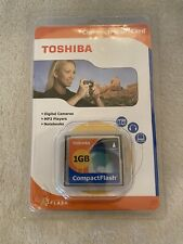 Toshiba 1GB Compact Flash Memory Card (CF-1GTR)