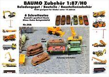Neu Für Diorama Nr.30A 6 Schrottautos 1:87/H0 bemalt gealtert Resin