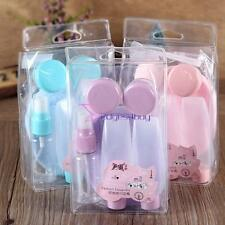 7Pc/set Empty Spray Bottle Travel Clear Plastic Atomizer Cosmetic Mini Container