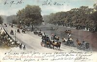 B89295 rotten row hyde park london horse chariot  uk