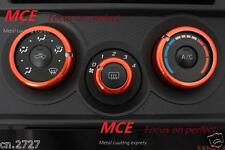 MCE Air Conditioning Ring Cover Trim Red for Toyota GT86  BRZ FRS