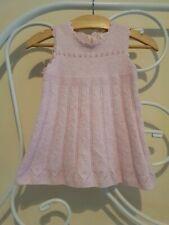 Next Pink Sleeveless Pointelle Knit Dress Age 3-6 Months