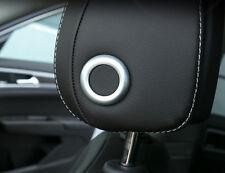 For VW Golf 7 MK7 2013-2018 ABS Interior Seat Headrest Adjust Cover Trim 2pcs