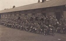 WW1 soldier group 227th Company, ASC Army Service Corps 33rd Division Train