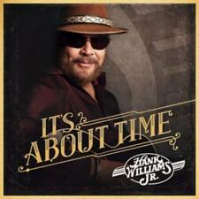 Its About Time von Hank Jr. Williams (2016), Neu OVP, CD