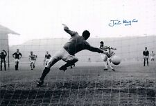 John Hughes Glasgow Celta autógrafo firmado foto 1965 Taza final Antiguo firme