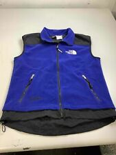Men's Vintage The North Face Blue Fleece Vest Size L