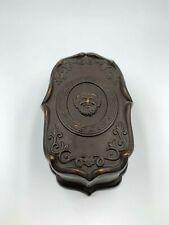 WS&S Wilhelm Schiller & Son Match Holder Striker Stoneware Terracotta Pottery