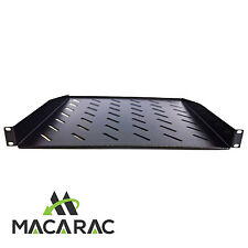 "1U-400 mm Deep Cantilever Shelf / Tray Vented  (19"" Rack-Mount Application)"