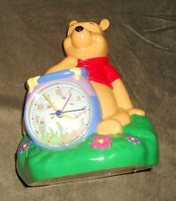 DISNEY CLASSIC WINNIE THE POOH CLOCK ANDCOIN BANK CHILDS KIDS TOYS