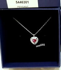 3578e5a91 Swarovski One Pendant, Heart-Shaped RHS Crystal Authentic MIB 5446301