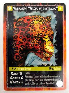 RAGE CCG ~ Atahualpa, Blood of the Incas - The War of the Amazon NM+