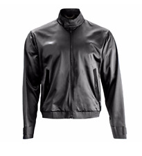 Porsche Design Stylish light nylon Jacket señores Cool chaqueta negro Gr. 46 nuevo