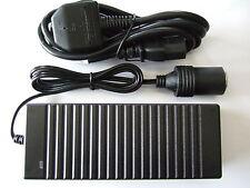 240v mains to 12v DC cigarette lighter socket charger adapter 10A (120W)