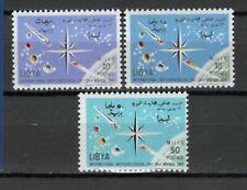 s16438) LIBYA LIBIA  MNH** Nuovi** 1965 Meteorology day 3v
