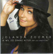 Jolanda Zoomer-Ik Wil Zo Graag altijd cd single