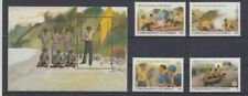 Dominica 791 - 94+ Block 78 Path Finder Scouts (MNH)