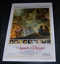 The Lord of the Rings Animated 11X17 Movie Poster #2