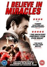Brian Clough I Believe in Miracles 2015 DVD Boxed UK PAL R2