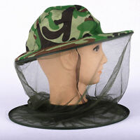 1pcs MOSQUITO MOSI INSECT MIDGE BUG MESH.HEAD.NET FACE PROTECTOR TRAVEL HAT#