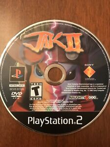 Jak II (Sony Playstation 2 PS2) - Disc Only - Tested