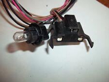 Dash Fuel Gas Gauge wire harness connector end Plug Petrol Level Indicator Light