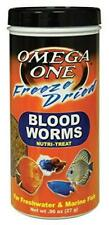 Omega One Freeze Dried Blood Worms 0.96 oz