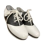Girls Stride Rite Saddle Shoes Size 11.5 Toddler