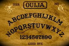 Incorniciato stampa-VINTAGE OUIJA BOARD (foto poster arte GHOST MAGIC MORTE DEAD)