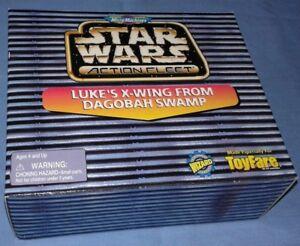 "Star Wars ""Luke's X-Wing on Dagobah"" Toyfare #14 Exclusive MicroMachine"