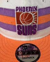 Phoenix Suns New Era 9Fifty Hardwood Classic Men's Snapback Hat, Retro Logo