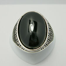 Gioielli di lusso in argento con pietra principale onice