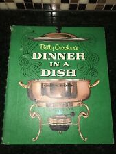 VINTAGE BETTY CROCKER'S DINNER IN A DISH 1965 Cookbook Recipes Cook Book Baking