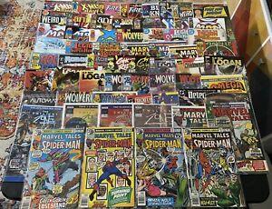 Collection 63 Comics Books Wolverine, Old Man Logan, Marvel Tales Spider-man Etc