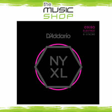 Set D'Addario NYXL 9-80 8-String Nickel Wound Electric Guitar Strings - S. Light